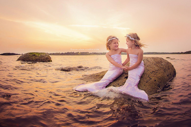 Mermaid Sisters Elan Studio Tracy Sweeney 500px