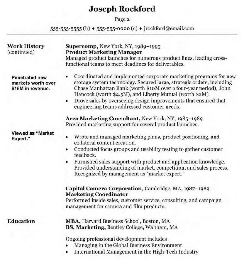 Costume Design Template Resumes Httpwwwresumecareer Manager Resume Marketing Resume Resume Examples