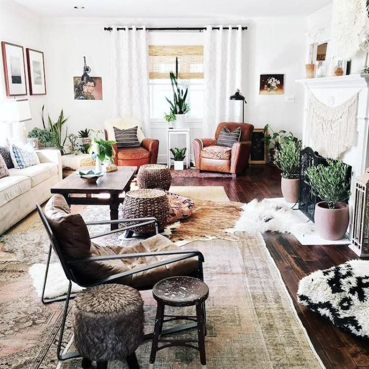 73 Eclectic Living Room Decor Ideas: Room Redo: Bohemian Eclectic Livingroom