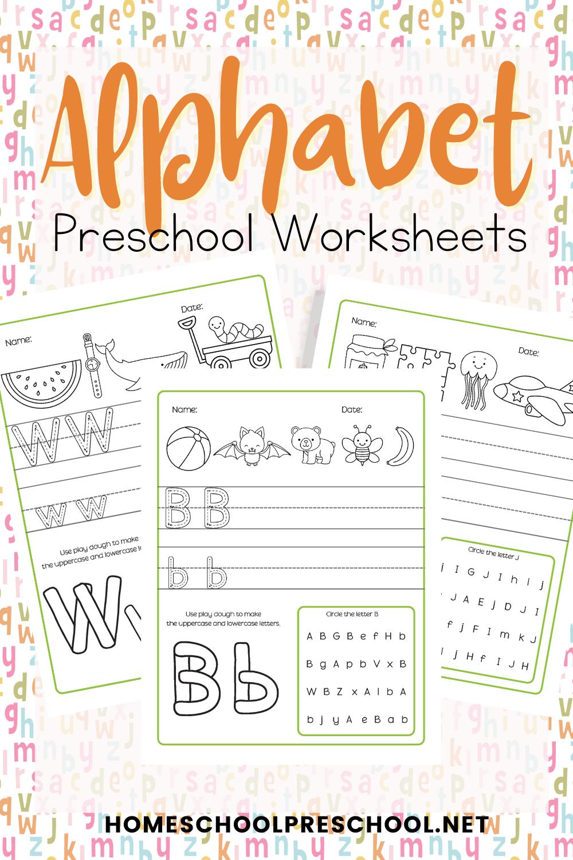 Alphabet Worksheets For Preschool And Kindergarten In 2021 Letter Recognition Worksheets Alphabet Worksheets Preschool Alphabet Worksheets [ 1500 x 1000 Pixel ]