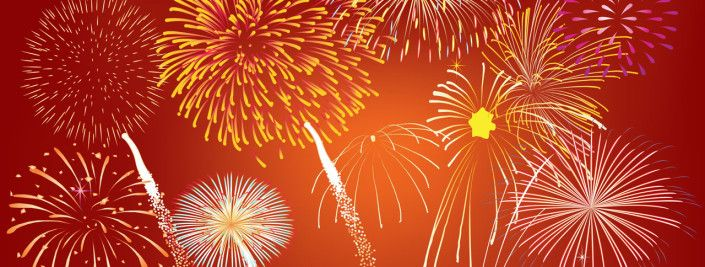 how to create fireworks in powerpoint using animations