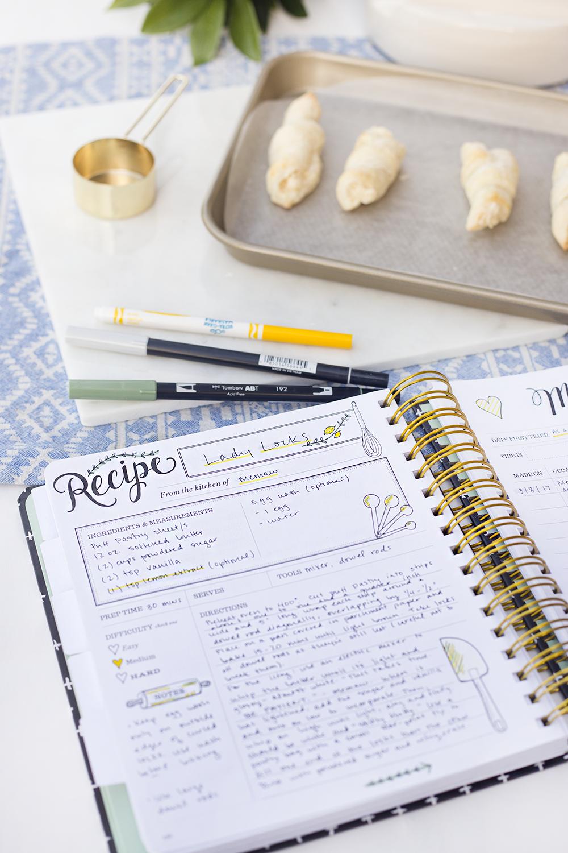 Keepsake Kitchen Diary | Recipe Book | Memory Keeping