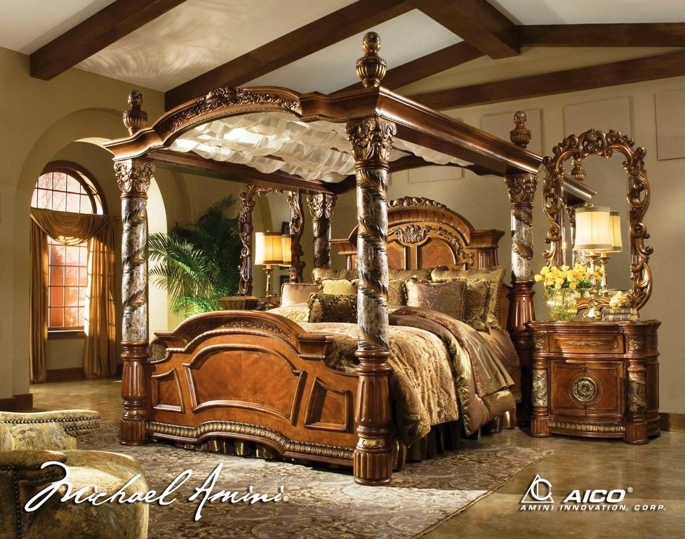 Villa Valencia Canopy Bedroom Set My Mansion And How I Would