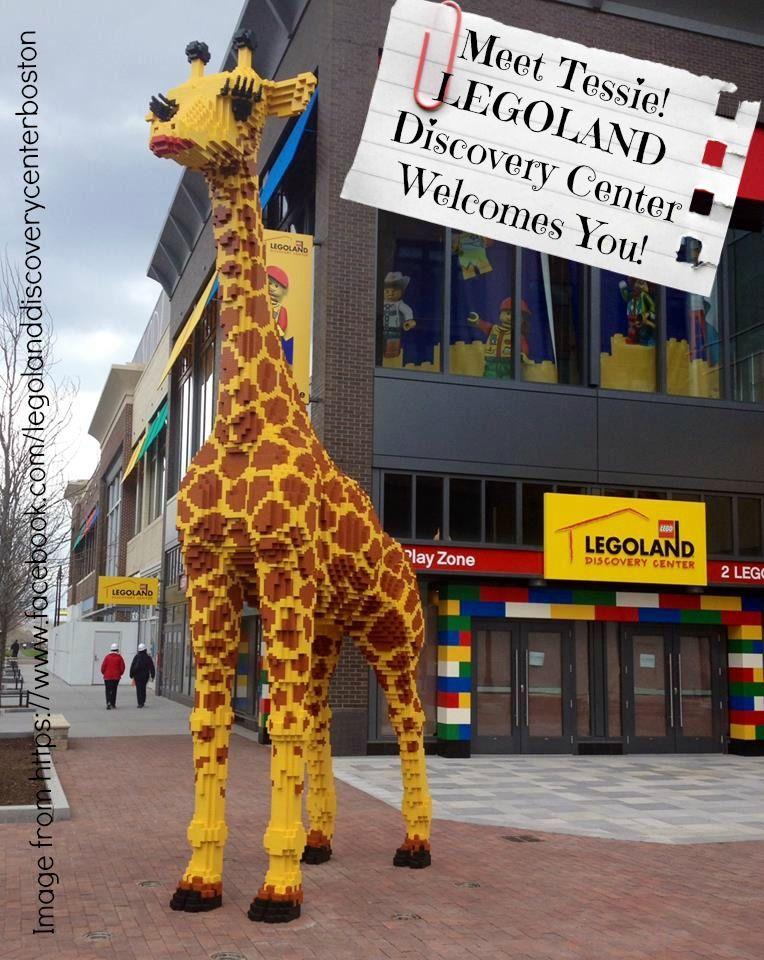 Legoland Discovery Center Boston GIveaway - a Lego giraffe ...