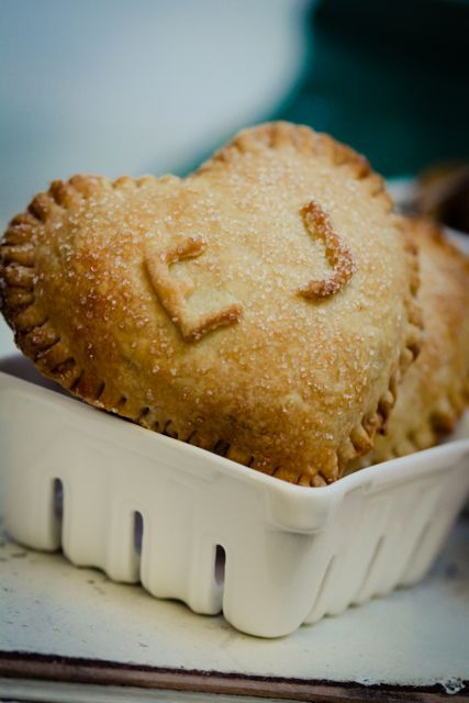 luv the heart #pies in ceramic basket #monograms