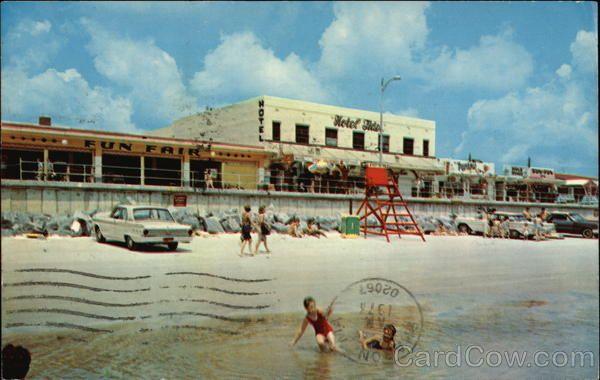 Jacksonville Beach Scene U0026 Boardwalk