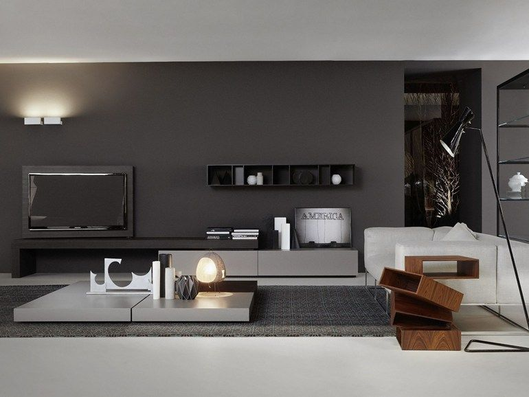 low tv cabinet modern flagporro design piero lissoni | interior