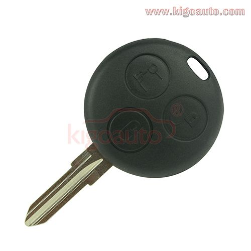 3button 434mhz Remote Key For Mercedes Smart Fortwo Roadster 2002