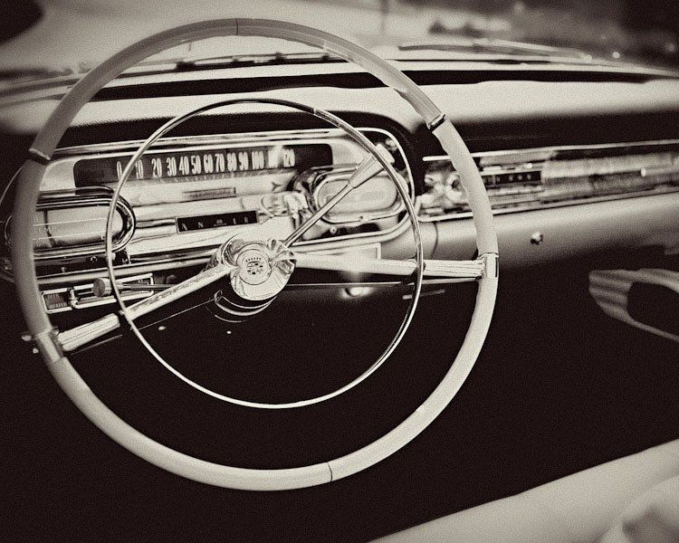 X Large Wall Art Black And White Wall Art Classic Car
