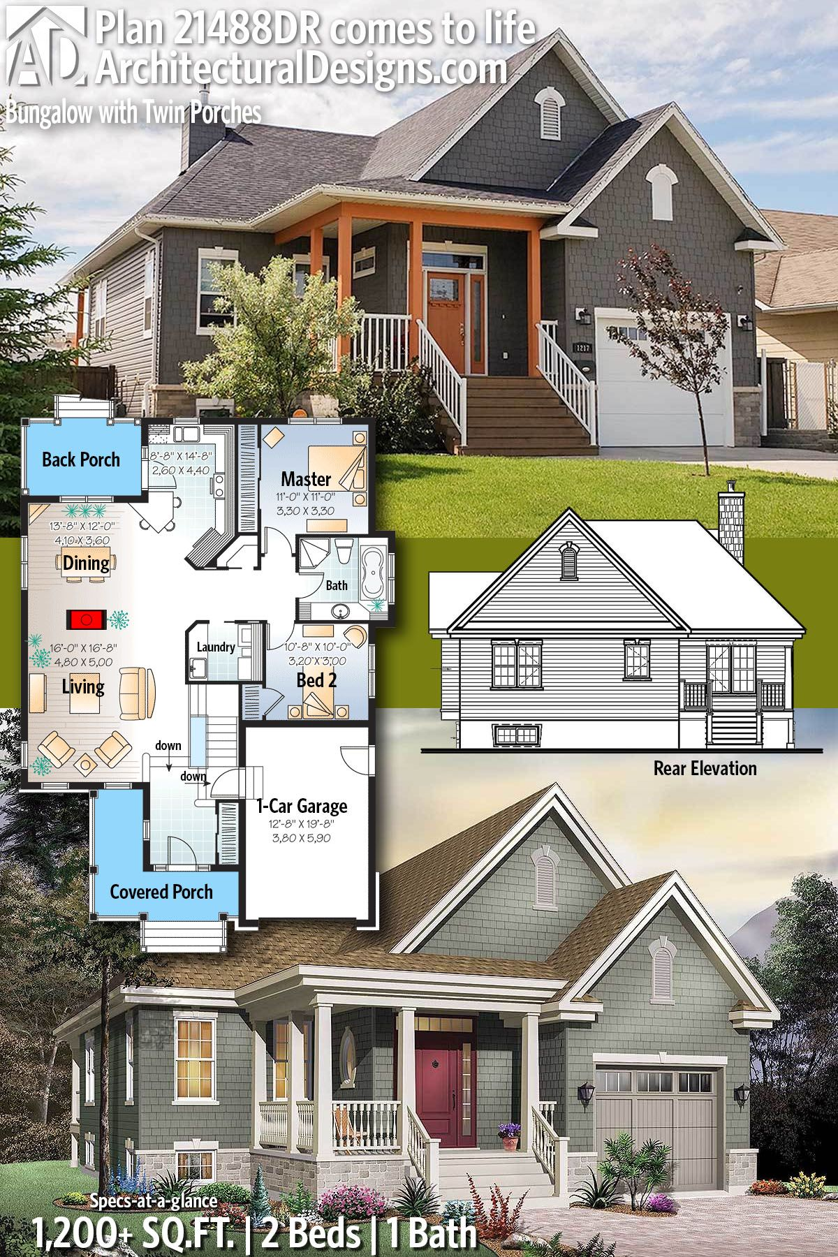 Architectural designs house plan dr comes to life beds