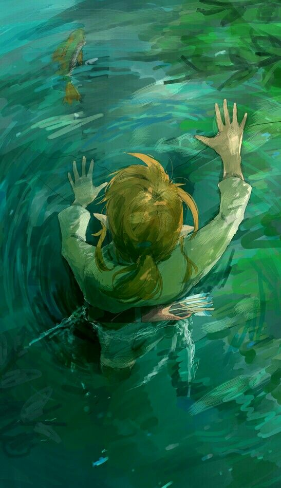 Catching A Hyrule Bass Zelda Art Legend Of Zelda Breath Legend Of Zelda