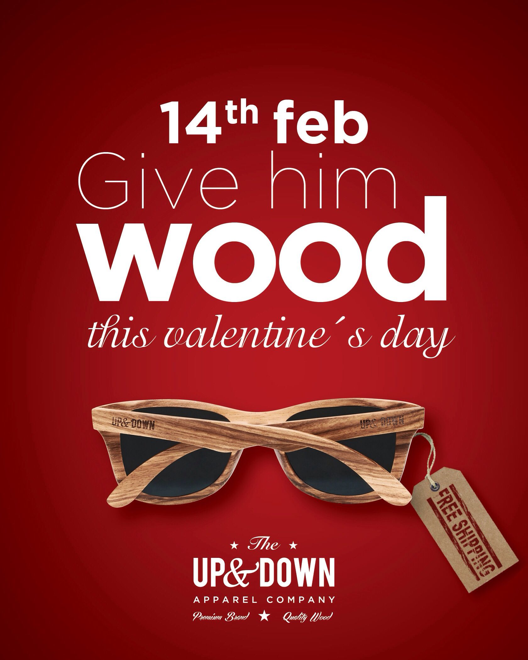 the first ad for updown for valentines day
