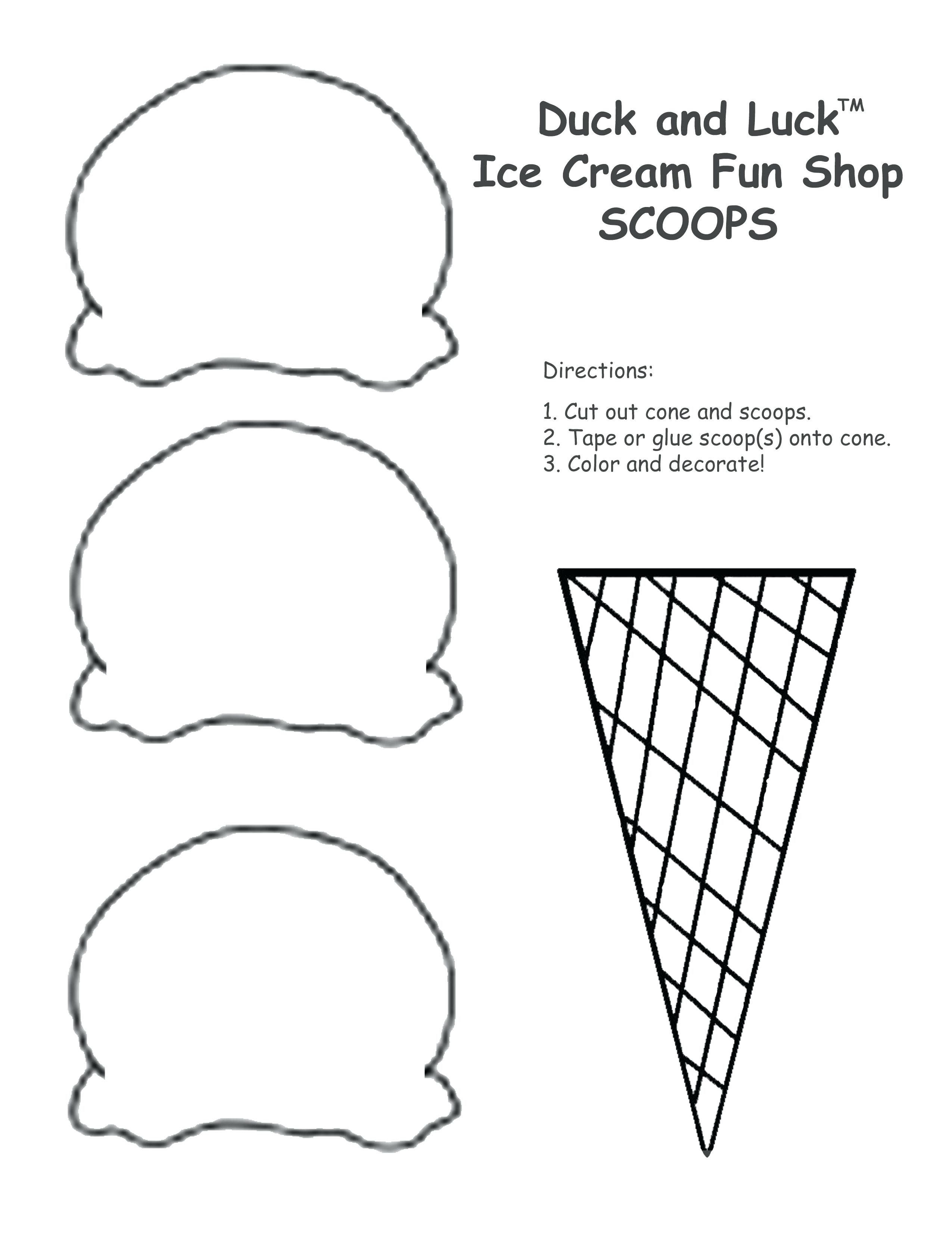 Icecream Cone Coloring Pages Beautiful Ice Cream Coloring