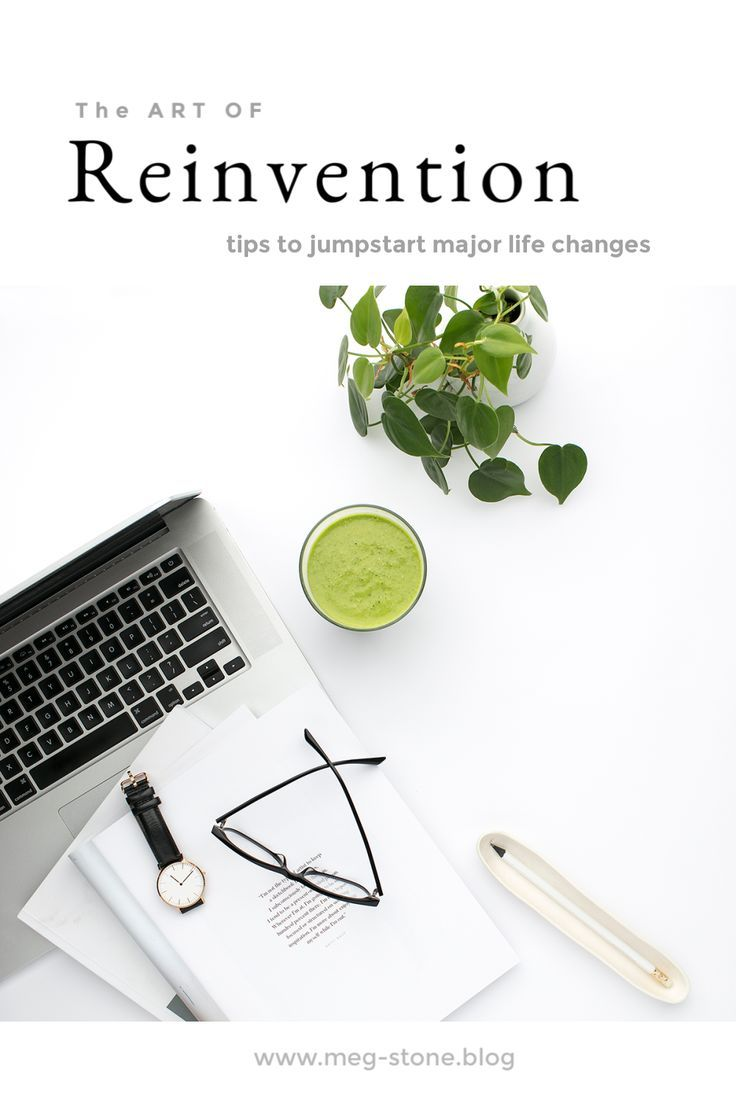 How to Reinvent Yourself Today — Meg Stone in 2020