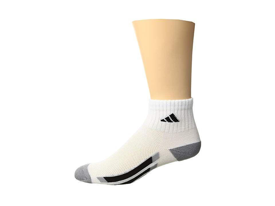 0d574244f143 Line the sock drawer with pairs of the adidas Kids Vertical Stripe Quarter 6 -Pack!