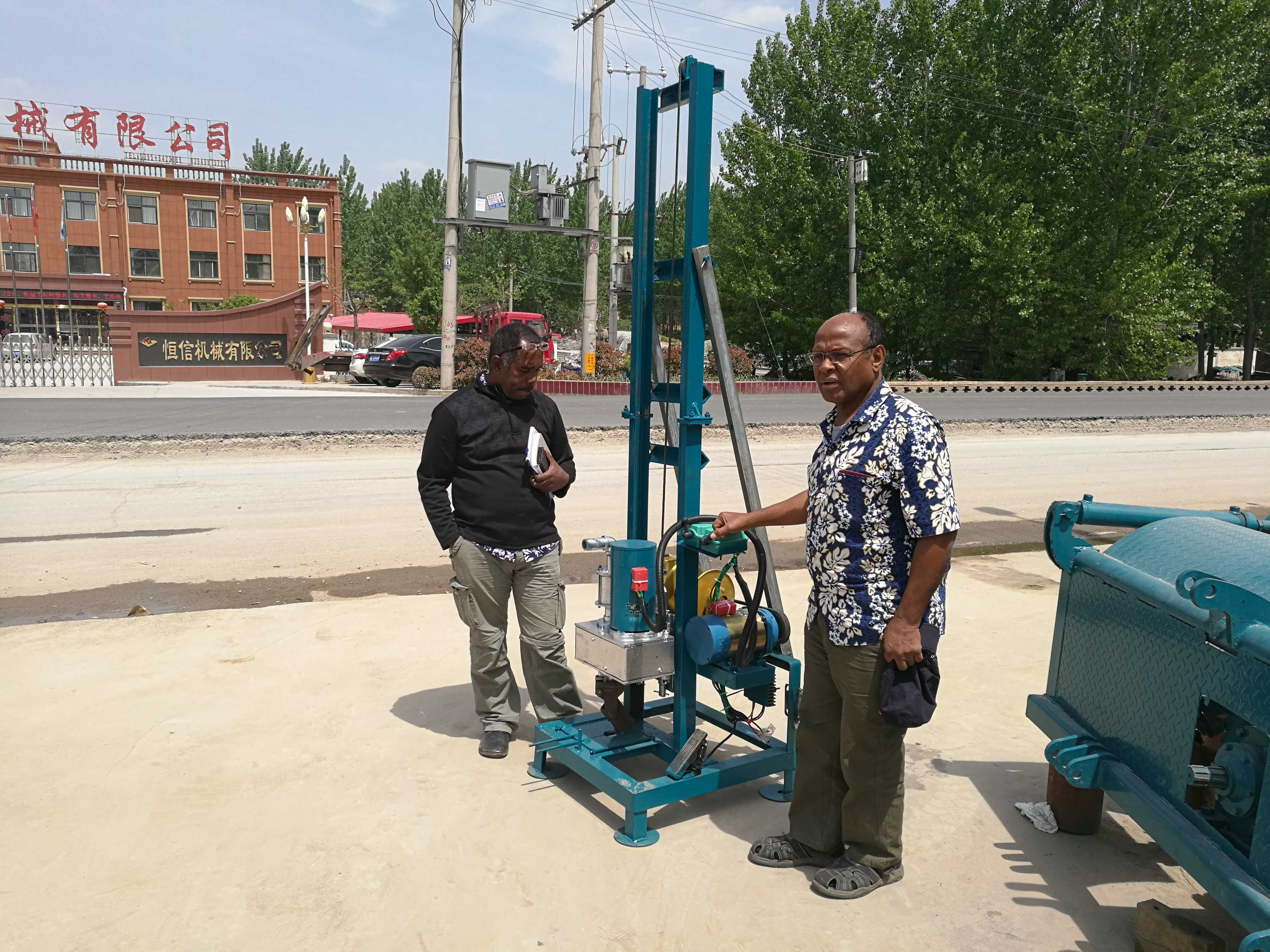 portable water well drilling rig for home use portable water well