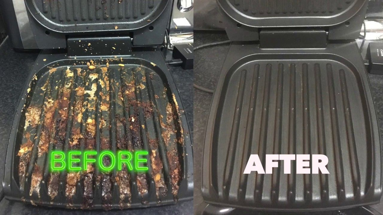 How To Clean Your George Foreman Grill The Easy Way Like A Boss George Foreman Grill Grilling George Foreman