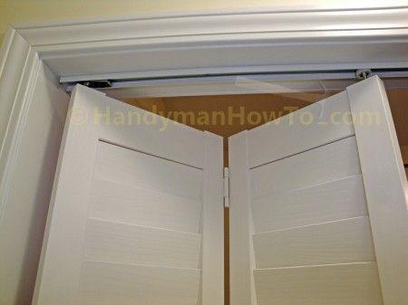 How To Install A Bi Fold Closet Door Bifold Doors