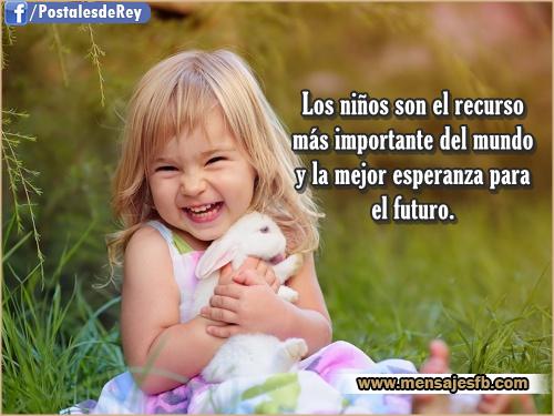 Imagenes Con Frases De Ninos Mensajes Bonitos De Amor Para