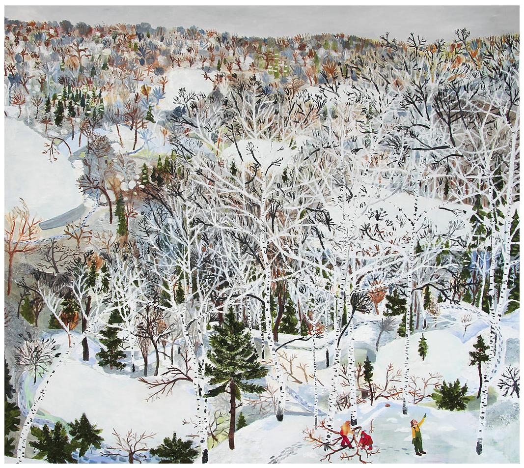 January by Sophia Heymans