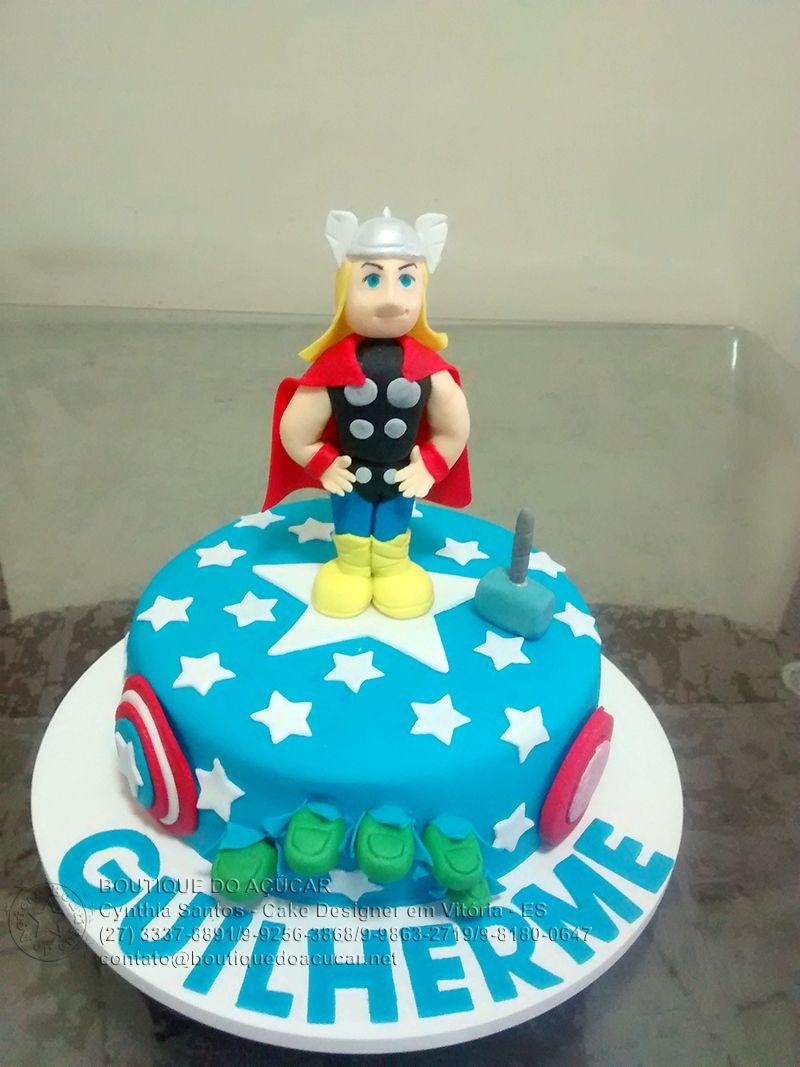 Bolo Decorado Thor/Thor Cake