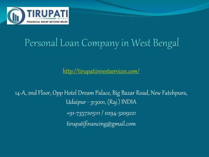 Personal Loan Company In West Bengal Loan Company Personal Loans Loan