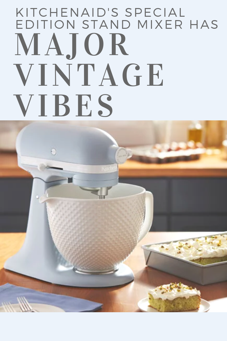 kitchenaid s special edition stand mixer has major vintage vibes rh pinterest com