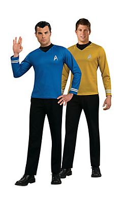 Star Trek Kirk and Spock Couple Costumes  sc 1 st  Pinterest & Star Trek Kirk and Spock Couple Costumes | | render | ppl obj ...