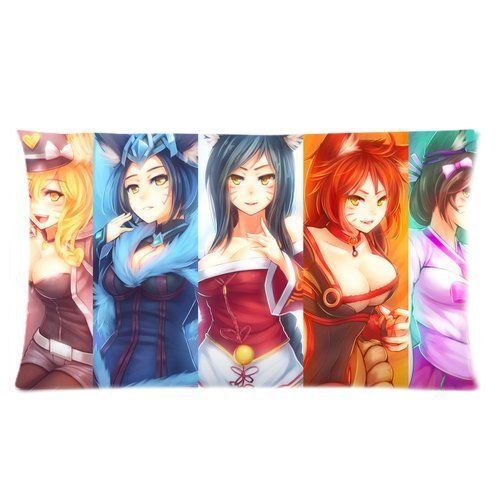Sexy Anime Girl Busty Girls Game Roles Custom Pillow Cases Pillow Covers Pillowslip Best Bed Sheets Pillow Case Standard Size X Inch Read More