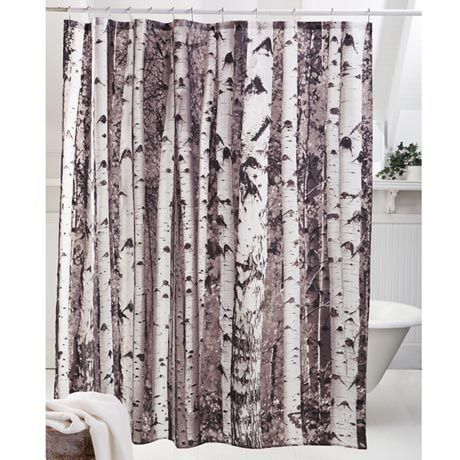 Birches Shower Curtain Maybe Step Through A Stand Of Birch