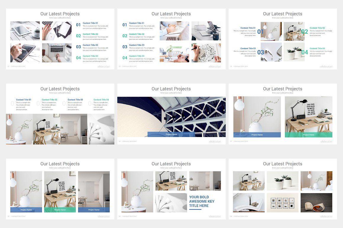 Pro Minimalist PowerPoint Template Powerpoint templates