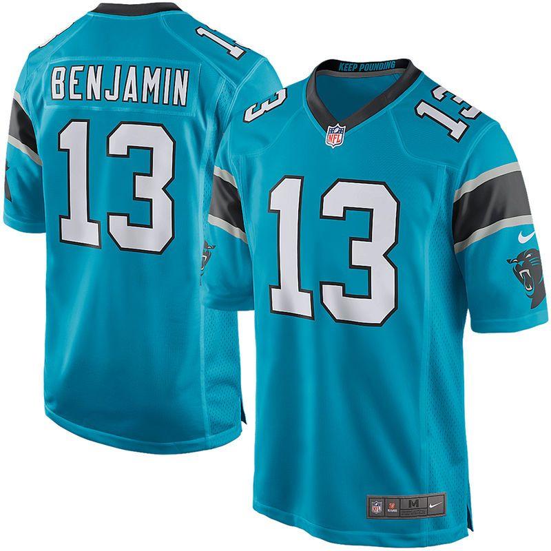 huge discount 0cb00 e9954 Kelvin Benjamin Carolina Panthers Nike Youth Alternate Game ...