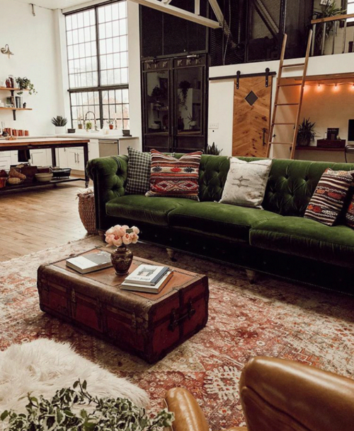sofa industrial velvet barn nordroom thenordroom afkomstig couch