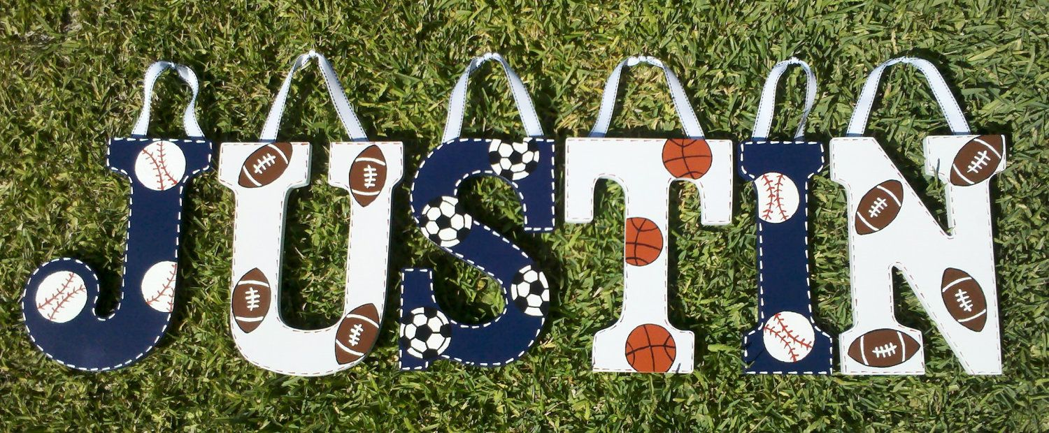 Custom Hand Painted Letters-