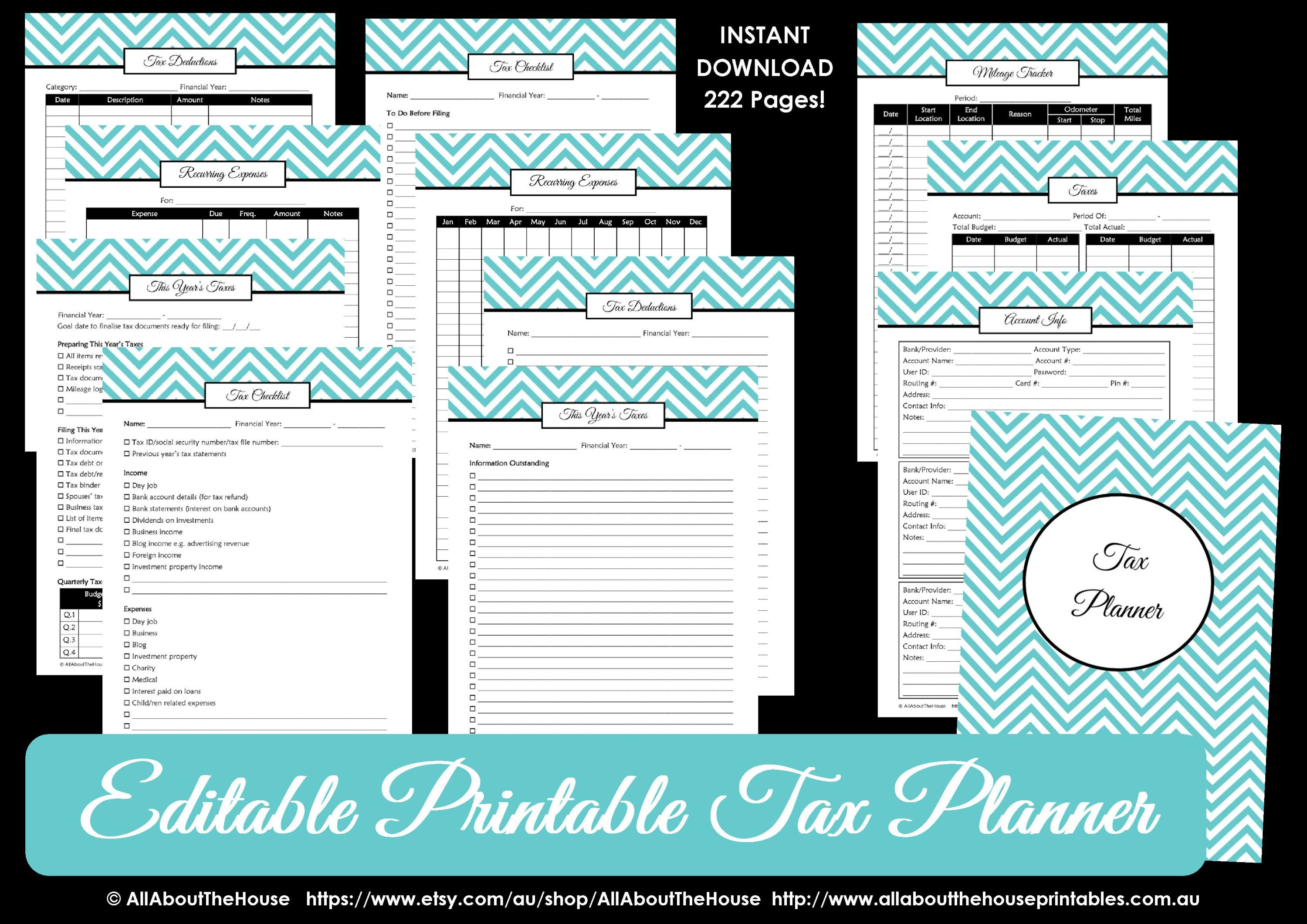 What Expenses Can I Claim Free Printable Checklist Of 100