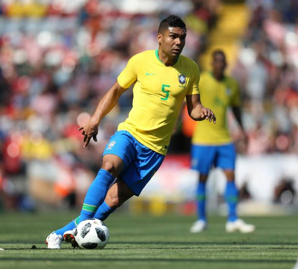Casemiro Of Brazil During The Friendly International Football Match International Football Football Match Photo