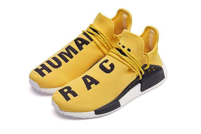 Pharrell adidas NMD Human Race Yellow