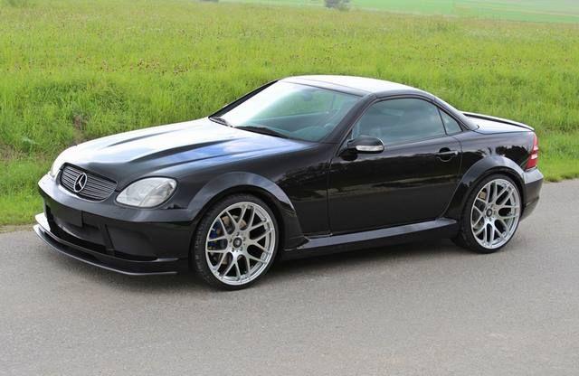 Lumma Tuning Mercedes Benz Slk R170 Voiture Mercedes Voiture