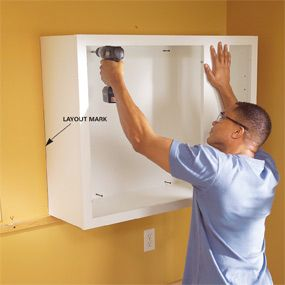 How to Install Kitchen Cabinets #familyhandymanstuff