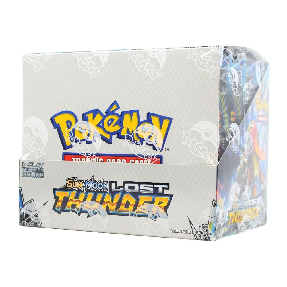 POKEMON SUN /& MOON LOST THUNDER BOOSTER BOX BLOWOUT CARDS