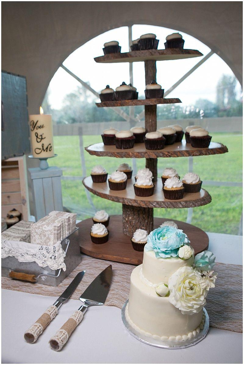 Cupcake Table  | The Budget Savvy Bride