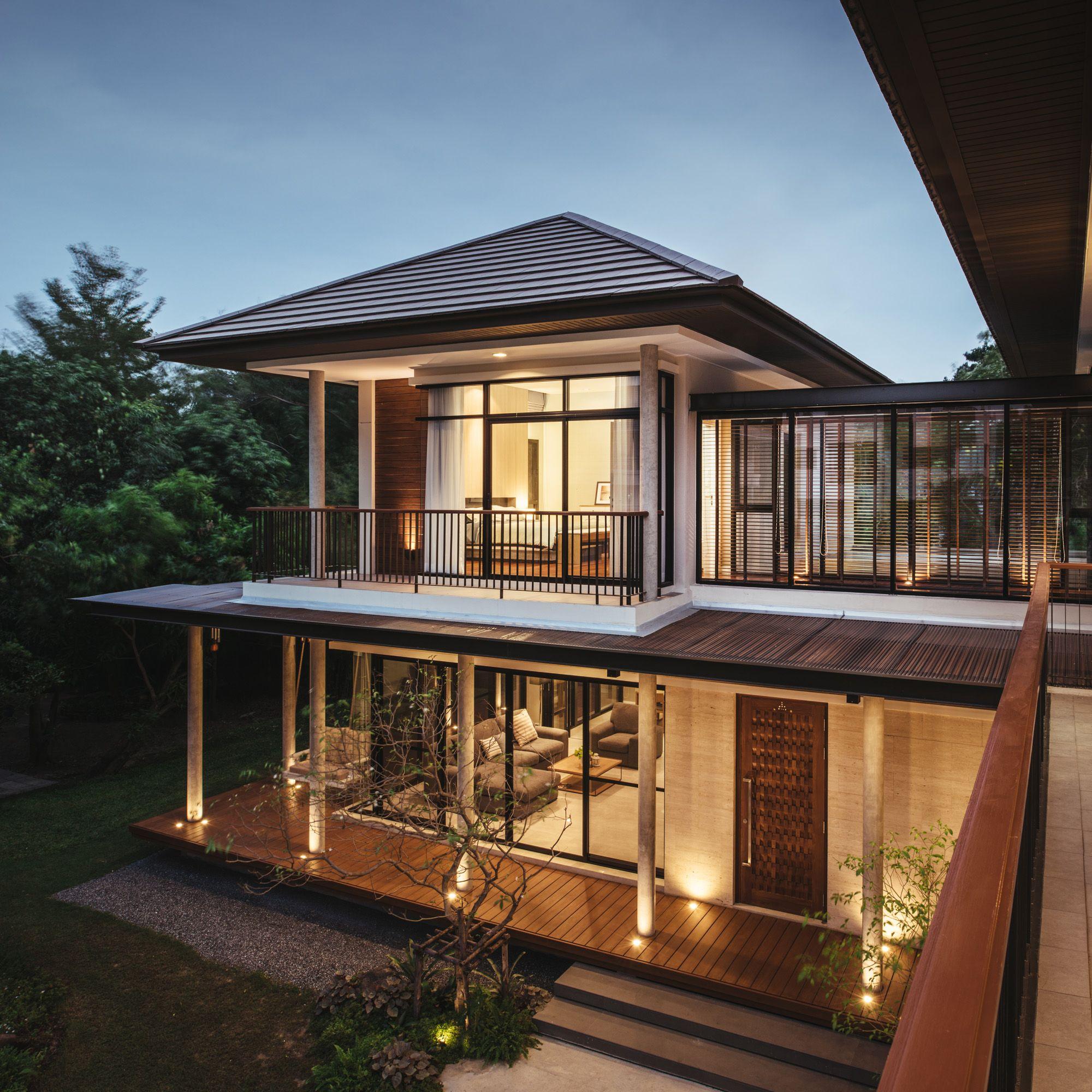Sukhumvit 64 House Modern Filipino House Architect Design House Tropical House Design