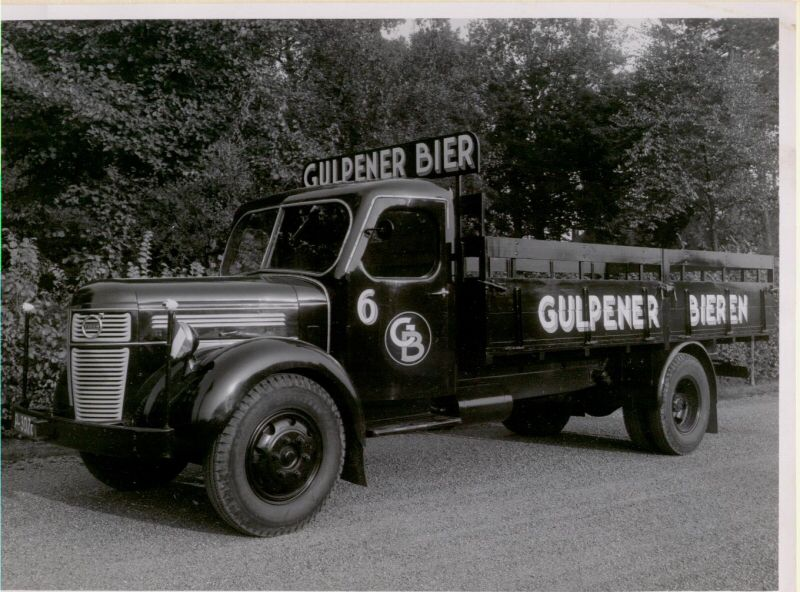 Gulpener Oude Vrachtwagen Beer Truck Volvo Trucks Trucks