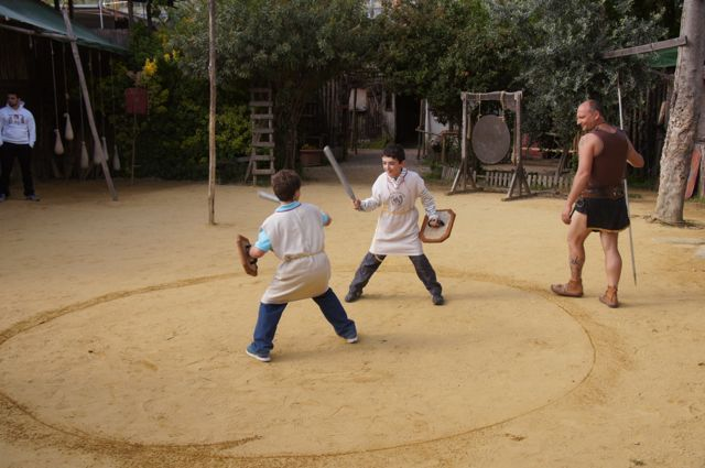 Gladiator School In Rome Is A Mustdo For Boys And Up Minimum - 8 fun activities for kids in rome