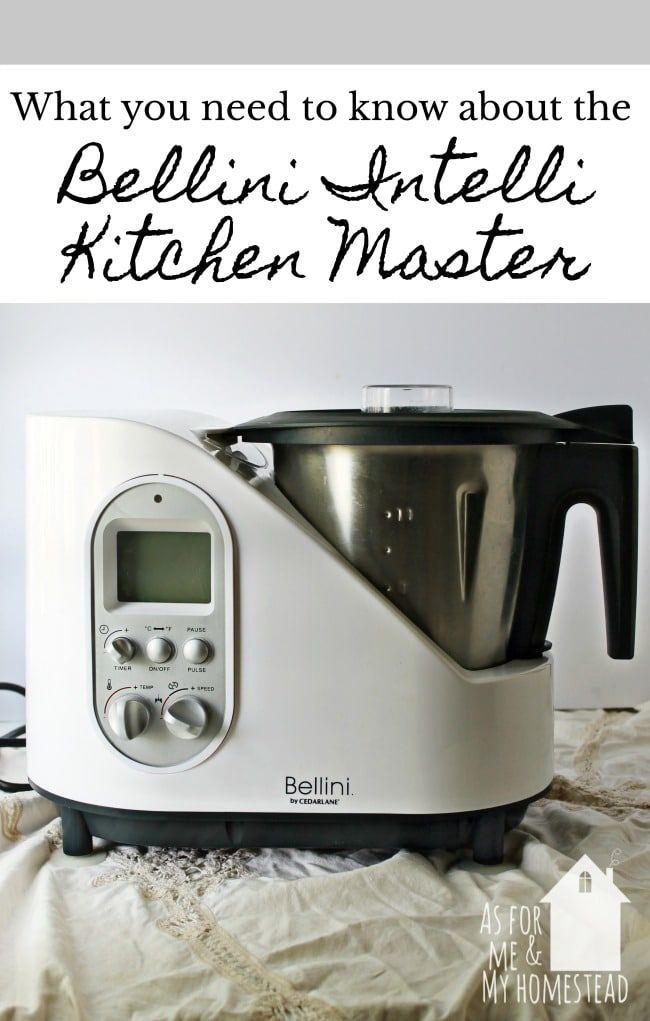 Review Bellini Intelli Kitchen Master In 2020 Bellini Recipe