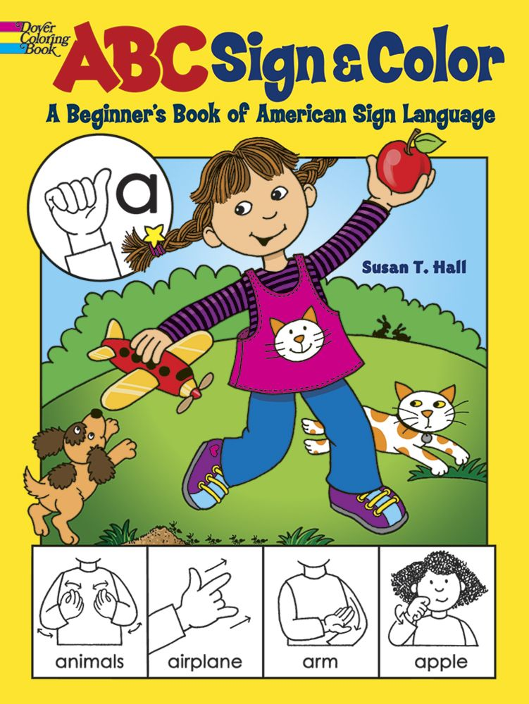 ABC Sign and Color: A Beginner\'s Book of American Sign Language ...