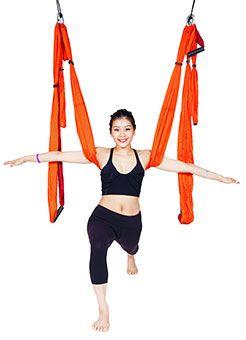 yoga pose toturials yoga trapeze swing  yoga trapeze