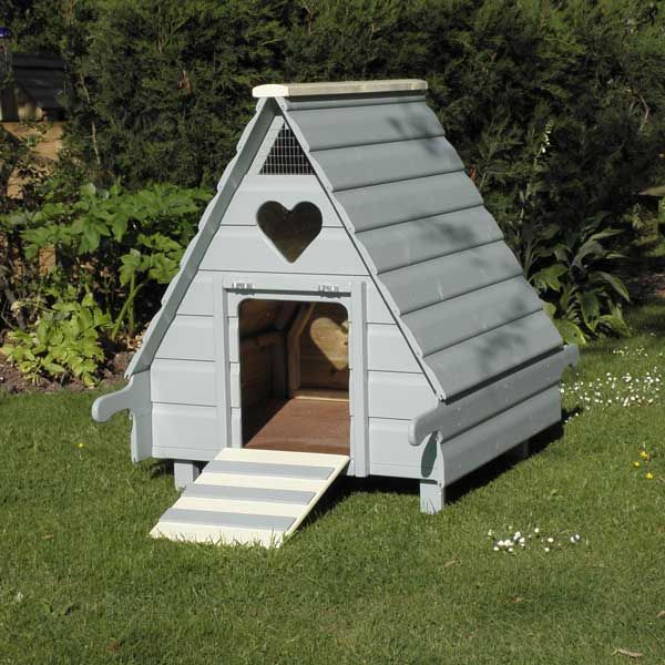hobby duck house painted doulton blue pets pinterest. Black Bedroom Furniture Sets. Home Design Ideas