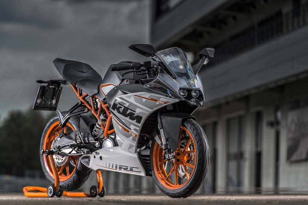 ktm rc 125: now with free powerparts pack - http