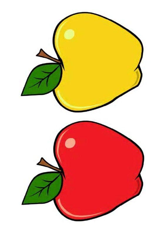 Pommes Jaune Et Rouge Pour Jeux De Motricite Apple Activities Apple Preschool Apple Theme
